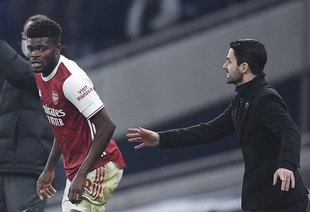 Thomas Partey rates his first season at Arsenal and finally addresses Mikel Arteta 'push' against Spurs - Bóng Đá