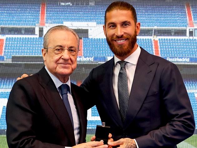"Florentino Pérez: ""Sergio, you'll always be the man of the Décima"" - Bóng Đá"