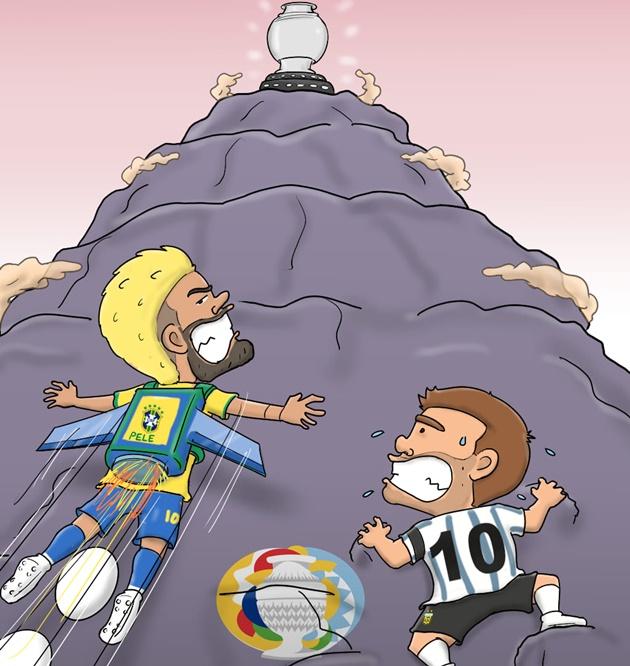 Cười té khói với loạt ảnh chế Copa America - Bóng Đá