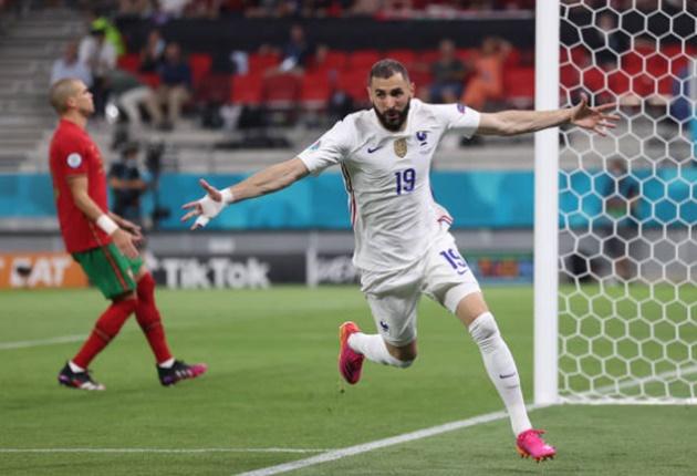 TRỰC TIẾP Pháp 2-1 Bồ Đào Nha (H2): Benzema lập cú đúp - Bóng Đá