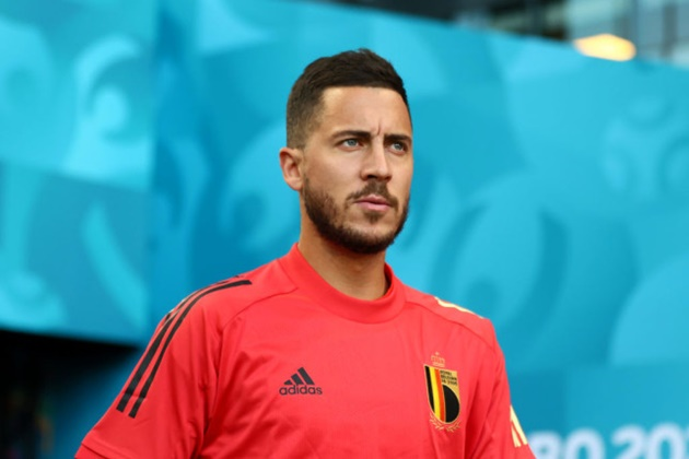 Eden Hazard provides injury update after being forced off in Belgium's Euro 2020 win over Portugal - Bóng Đá