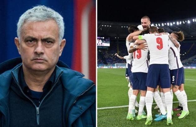 Jose Mourinho warns England to expect 'difficult' Euro 2020 semi-final against Denmark after Ukraine thrashing - Bóng Đá