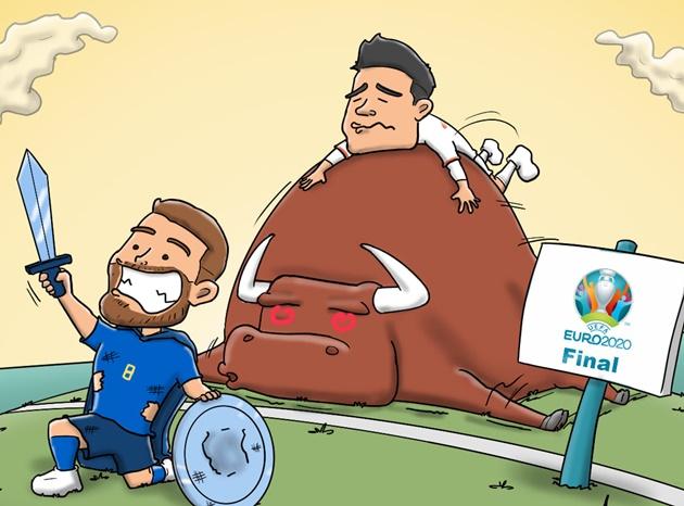 Cười té khói với loạt ảnh chế bán kết EURO - Bóng Đá
