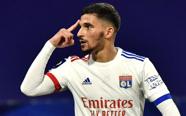 Houssem Aouar responds to report his 'agent' is in London to finalise Arsenal transfer - Bóng Đá