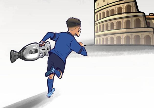 Cười té khói với loạt ảnh chế chung kết EURO - Bóng Đá