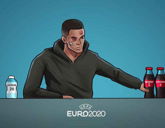 Cười té khói với loạt ảnh chế EURO hạ màn - Bóng Đá