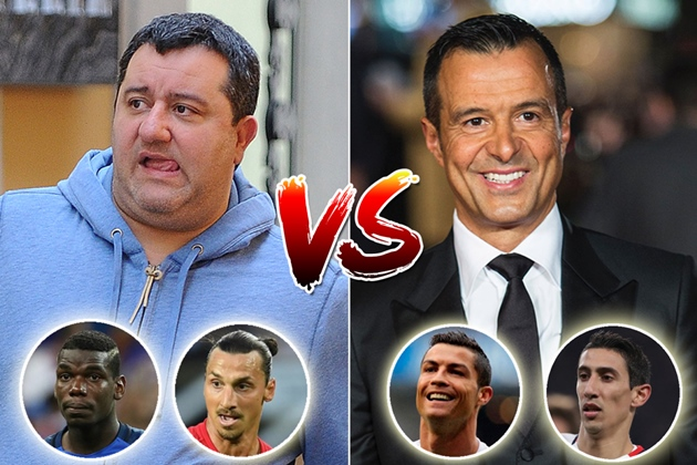 Mino Raiola makes £800k per transfer while Bale's rep Barnett has raked in over £100m as super agents' cuts revealed - Bóng Đá
