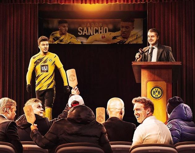 Cười té khói với loạt ảnh chế Man Utd mua Sancho - Bóng Đá