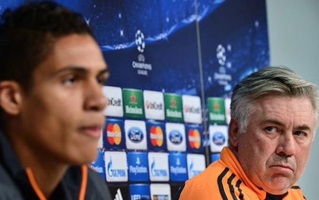 Inside Raphael Varane's showdown talks with Carlo Ancelotti - Bóng Đá