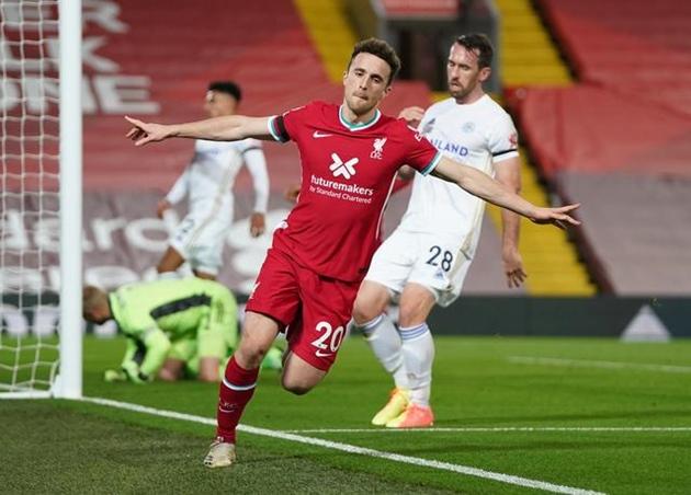 Liverpool assistant Pep Lijnders hails 'frightening' Diogo Jota after returning to training - Bóng Đá