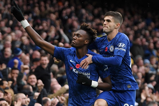 Christian Pulisic surprisingly admits his Chelsea teammate is faster than him - Abraham - Bóng Đá