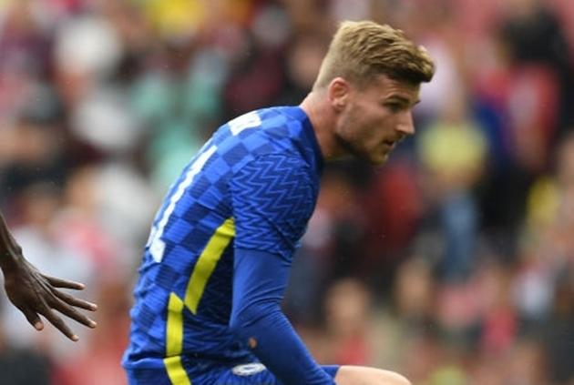 Thomas Tuchel admits concern over Timo Werner as Chelsea down Arsenal in friendly - Bóng Đá