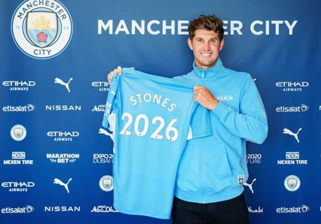 Stones signs new five-year contract with Manchester City - Bóng Đá