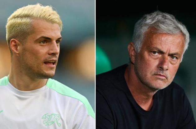 Granit Xhaka responds after Jose Mourinho urges Arsenal midfielder to get Covid-19 vaccine - Bóng Đá