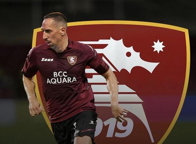Ribery signs for Serie A new boys Salernitana - Bóng Đá
