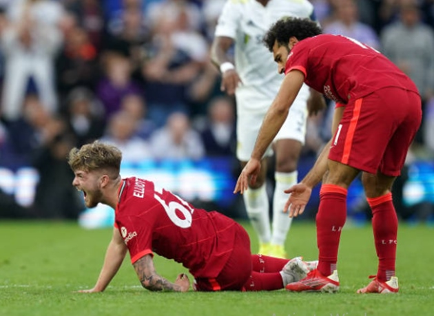 Liverpool boss Klopp reacts to 'serious' Harvey Elliott injury as Leeds chief says 'sorry' - Bóng Đá