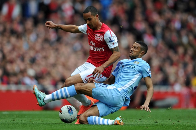 Gael Clichy has revealed to talkSPORT a host of former Arsenal players left for Manchester City because felt the club could no longer challenge - Bóng Đá