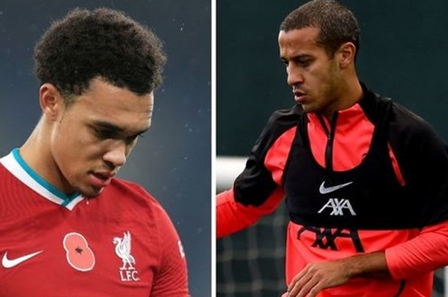 Thiago ruled out of Norwich and Brentford games as Liverpool give Alexander-Arnold update - Bóng Đá