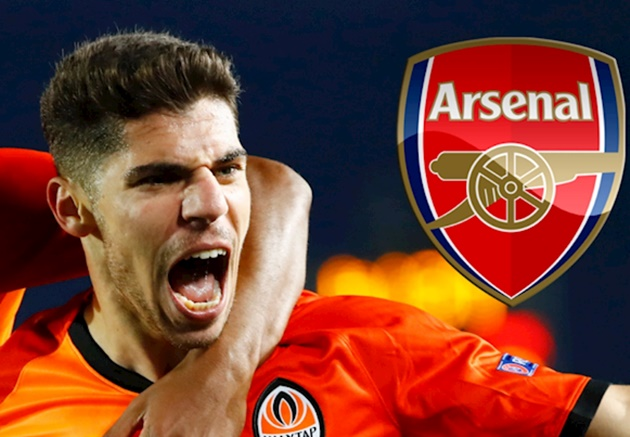Manor Solomon insists he has no plans to extend his contract at Shakhtar Donetsk after Arsenal lodged a £17 million bid - Bóng Đá