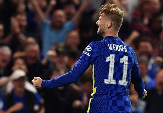 Timo Werner hopes his goal against Aston Villa puts him back on track at Chelsea - Bóng Đá