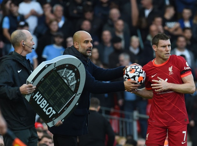 Jurgen Klopp responds to Pep Guardiola