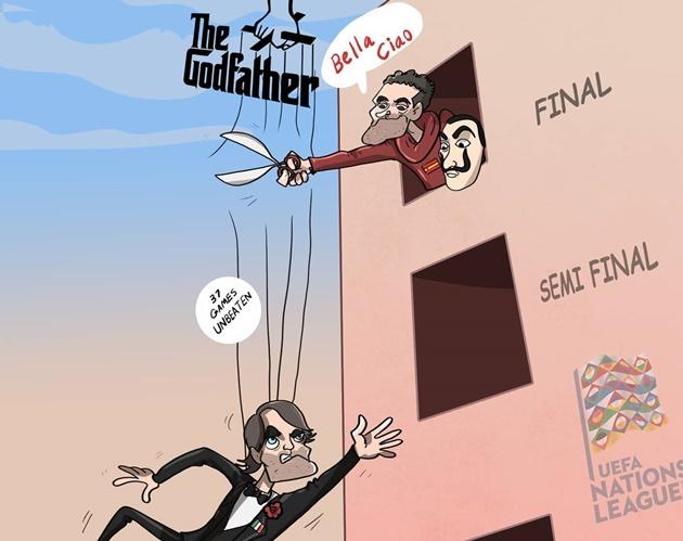Cười té khói với loạt ảnh chế bán kết UEFA Nations League - Bóng Đá