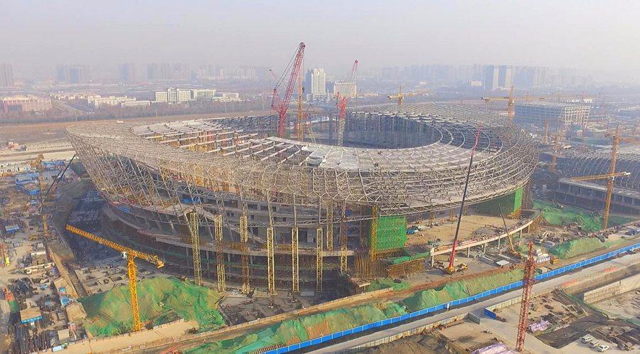 Trung Quốc xác nhận xây sân vân động