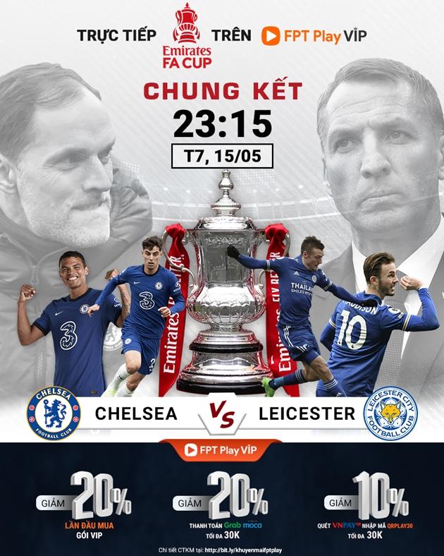 Chelsea có thể đánh bại Leicester City để giành danh hiệu FA Cup 2021? - Bóng Đá