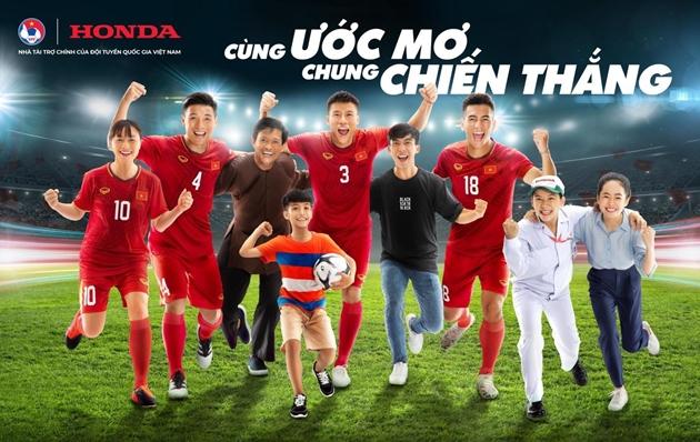 Chính thức: Honda Việt Nam tiếp tục là nhà tài trợ chính của các đội tuyển bóng đá quốc gia Việt Nam - Bóng Đá