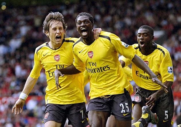 Adebayor tiết lộ những sự thật khó tin khi còn ở Arsenal - Bóng Đá