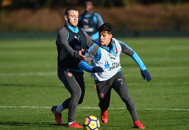 Sanchez chạy hùng hục trên sân, quyết tri ân Arsenal bằng một trận thắng - Bóng Đá