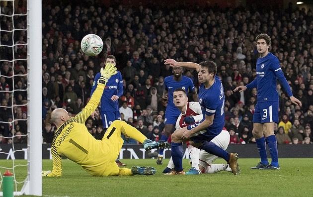 Hạ Chelsea sát nút, Arsenal hiên ngang có mặt trong trận Chung kết - Bóng Đá