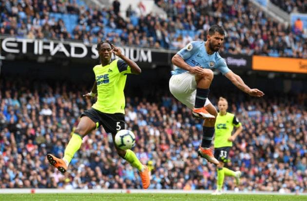 TRỰC TIẾP Man City 5-1 Huddersfield: Aguero lập hat-trick (H1) - Bóng Đá
