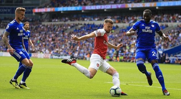 TRỰC TIẾP Cardiff 0-1 Arsenal: Mustafi đánh đầu dũng mãnh (H1) - Bóng Đá