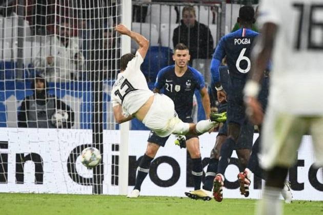5 điểm nhấn Đức 0-0 Pháp: Pogba mất tích, Rudiger xứng đáng bị phạt nặng - Bóng Đá