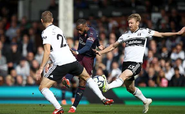 TRỰC TIẾP Fulham 1-2 Arsenal: Lacazette thăng hoa (H2) - Bóng Đá