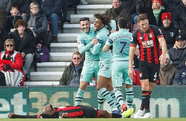 TRỰC TIẾP Bournemouth 1-1 Arsenal: Pháo thủ trả giá (H1) - Bóng Đá