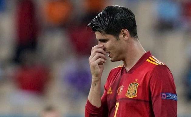 Tây Ban Nha 2 trận 1 bàn, lỗi có phải do Morata? - Bóng Đá