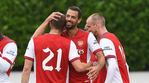 Tiếng hét của Rob Holding vô tình tiết lộ chiến thuật mùa giải tới của Arsenal - Bóng Đá