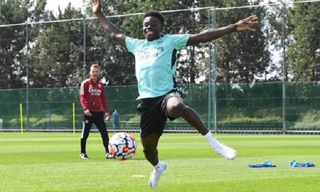 3 điều rút ra sau buổi tập gần nhất của Arsenal: Pháo thủ đón chào sự trở lại của Saka - Bóng Đá