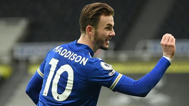 Bằng cách nào, Arsenal có thể để James Maddison đá trận ra mắt trước Brentford? - Bóng Đá