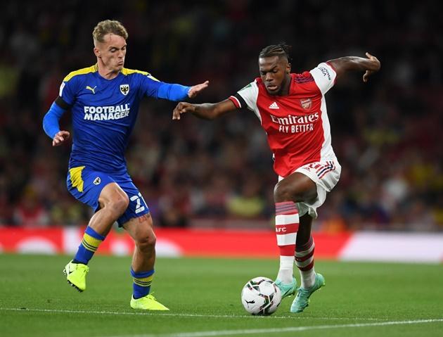3 điểm tích cực sau trận thắng của Arsenal ở Carabao Cup: Kích hoạt cơn lốc đường biên - Bóng Đá