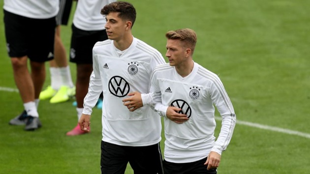 Marco Reus: I will try everything to convince Kai Havertz to join Borussia Dortmund - Bóng Đá