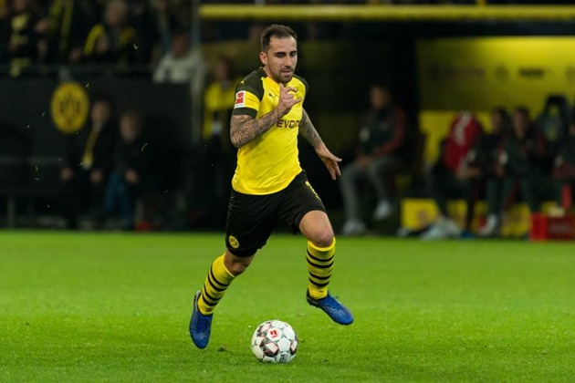 Borussia Dortmund striker Paco Alcacer not expected to return until Inter Milan game - Bóng Đá