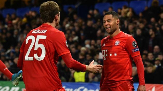 Thomas Muller mocks Arsenal over Bayern Munich hero Serge Gnabry - Bóng Đá