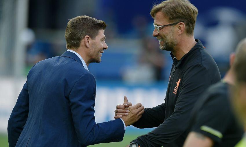 Gerrard talks about Klopp - Bóng Đá