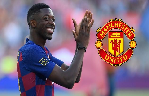 Barcelona star Ousmane Dembele tells Man Utd he'll join them on one condition - Bóng Đá