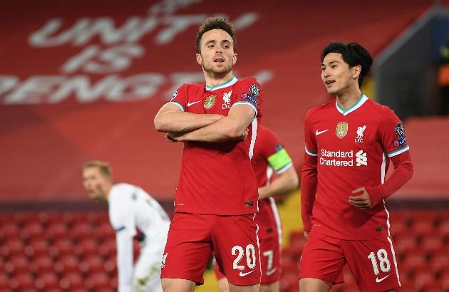 Diogo Jota Proud to Score Liverpool FC's 10,000th Goal - Bóng Đá
