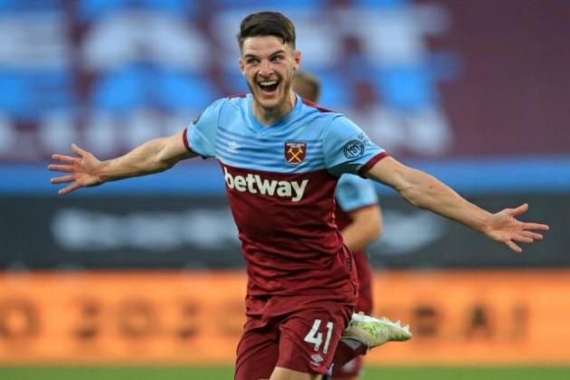 Chelsea 'plot fresh £60m Declan Rice transfer bid' in January swoop for West Ham star - Bóng Đá