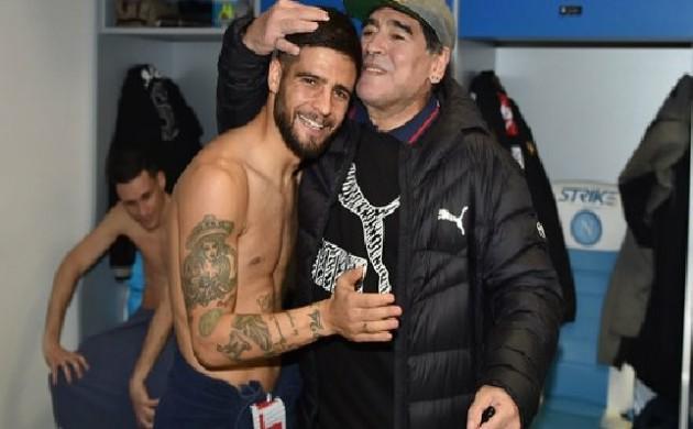 Insigne on Maradona - Bóng Đá